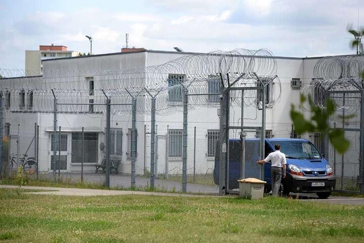Die Abschiebehaftanstalt in Eisenhüttenstadt.