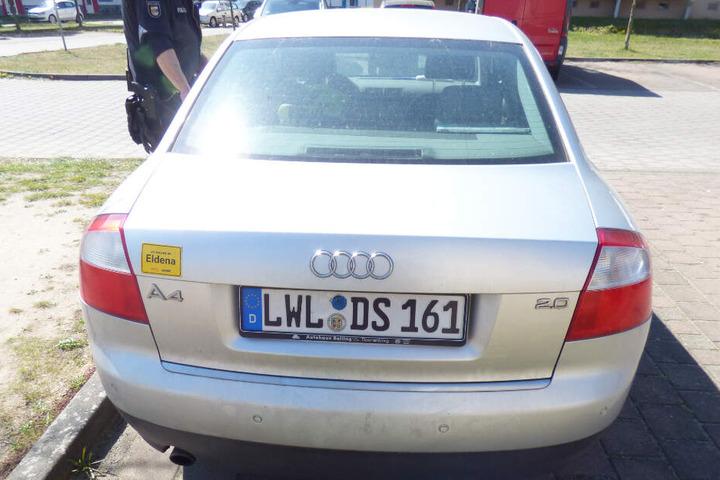 Diesen Audi A4 fuhr der Vermisste. Die Polizei sucht Hinweise, wo das Auto zwischen Silvester und dem 17. April war.