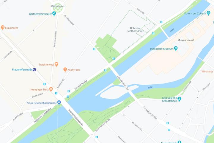 Das Unglück ereignete sich im Kreuzungsbereich Erhardtstraße - Corneliusstraße.