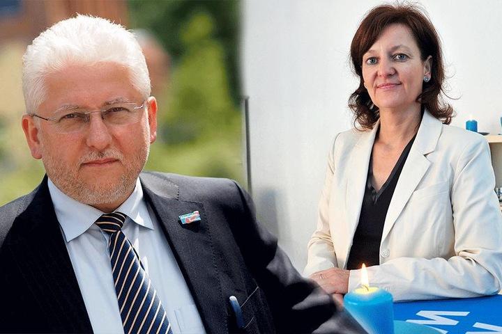 Ebenfalls aus der AfD-Fraktion ausgetreten: Gunter Wild (59) und Andrea  Kersten (52).