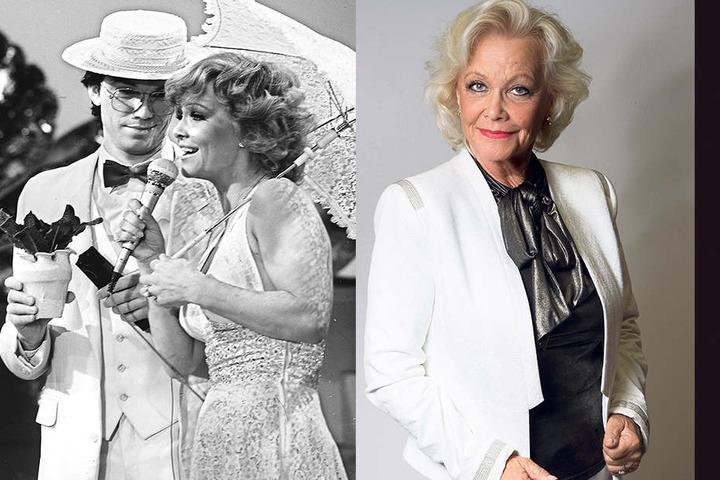 Auch in den 80er-Jahren sang Dorit Gäbler in Shows des DDR-Fernsehens die  weltberühmten Musical-Melodien, auch mit Wolfgang Lippert.
