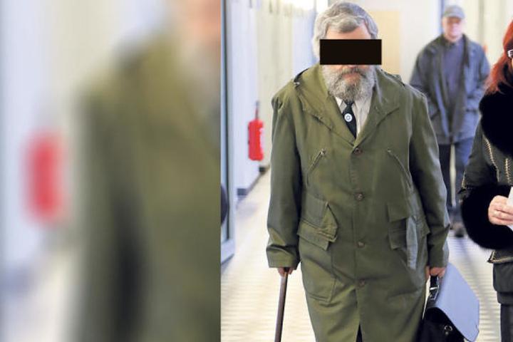 Förster Karl-Peter F. (64) soll ie Naturschutzstation Herrenhaide abgefackelt haben.