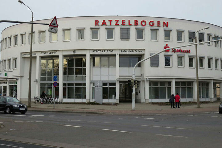 Das Bürgeramt Leipzig-Grünau im Ratzelbogen.