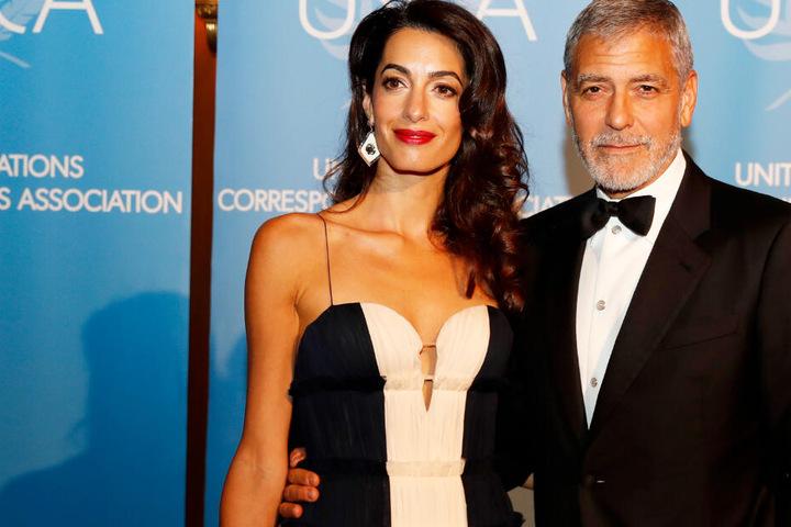 Irak: Amal Clooney als Anwältin in Münchner Terrorprozess