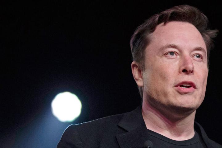 Elon Musk hatte seinen Tweet nach kurzer Zeit wieder gelöscht. (Archivbild)