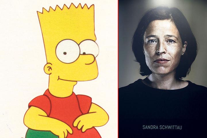 Kult-Comicstar Bart Simpson hat eine weibliche Seite. Sandra Schwittau (47)  legt ihm die witzigen Worte in den Mund.