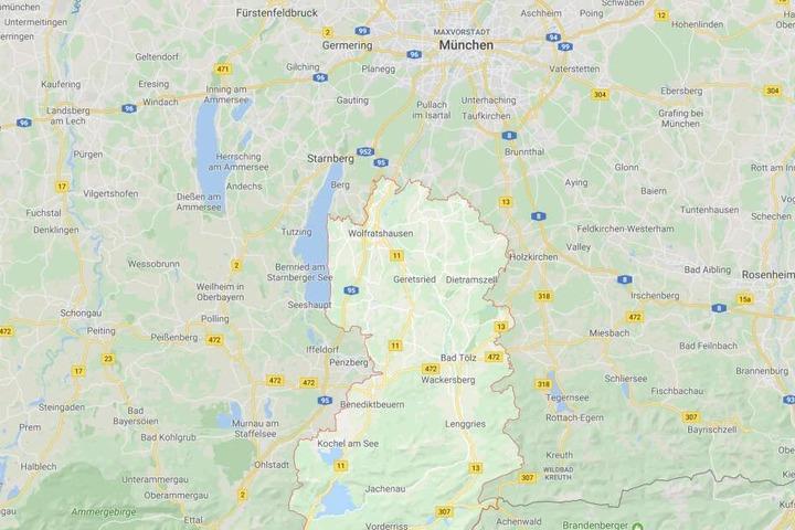 Im Landkreis Bad Tölz-Wolfratshausen in Bayern ist es zu einem tödlichen Unfall gekommen.