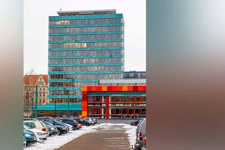 Auch das Haus der Presse wurde von Wolfgang Hänsch entworfen.