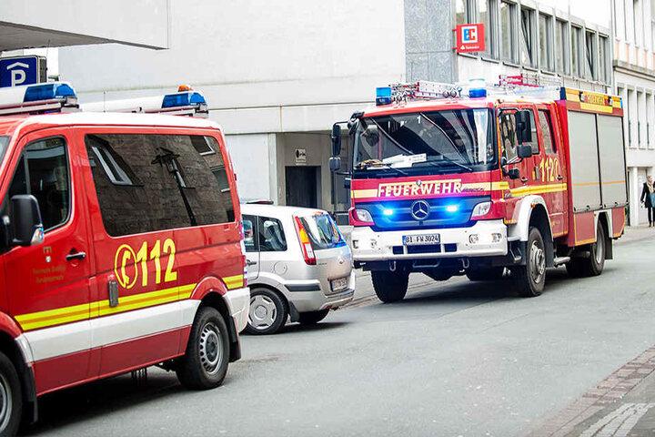 16 Feuerwehrmänner waren im Einsatz.
