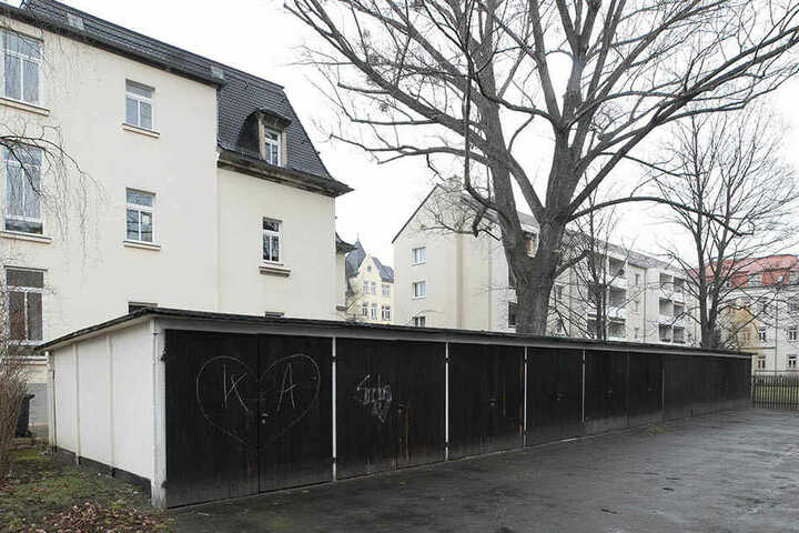 Auch an der Bamberger Straße 29 sollen die Garagen weggebaggert werden.
