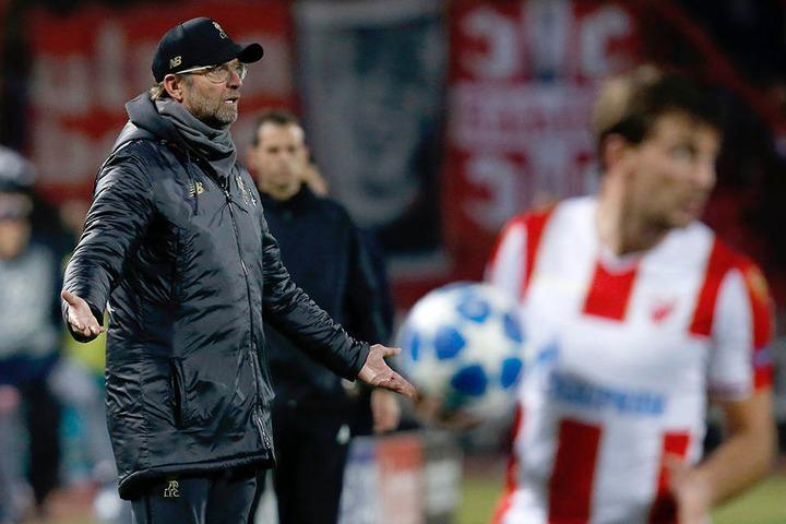 Sichtlich unzufrieden: Liverpool-Coach Jürgen Klopp (51)