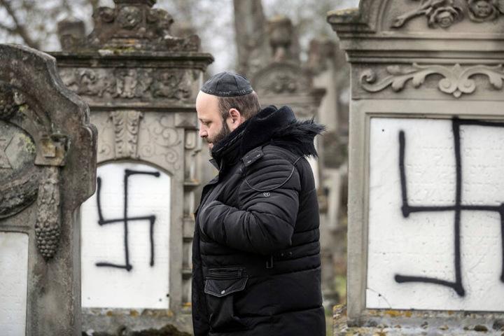 Hasskriminalität richtet sich etwa gegen Juden. (Symbolbild)