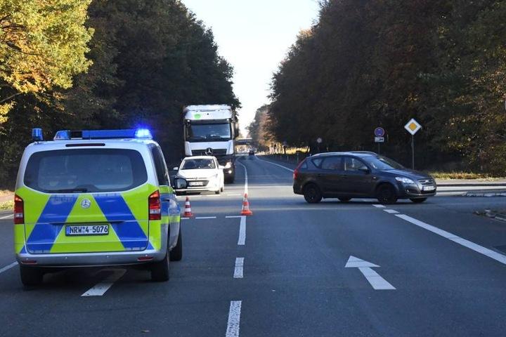Der Unfall sorgte für erhebliche Verkehrsbeeinträchtigungen.