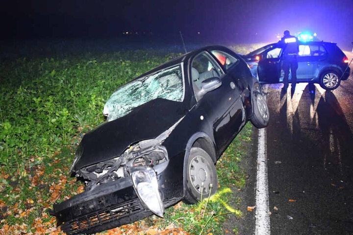 Beide Autofahrer wurden verletzt.