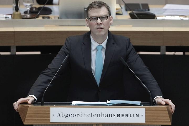 Florian Graf, Fraktionschef der CDU im Abgeordnetenhaus übt an den Plänen der SPD zur Marihuana-Legalisierung heftige Kritik.