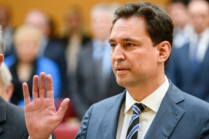 Justizminister Georg Eisenreich (CSU) will einen zeitlich begrenzten Mietdeckel durchsetzen. (Archiv)
