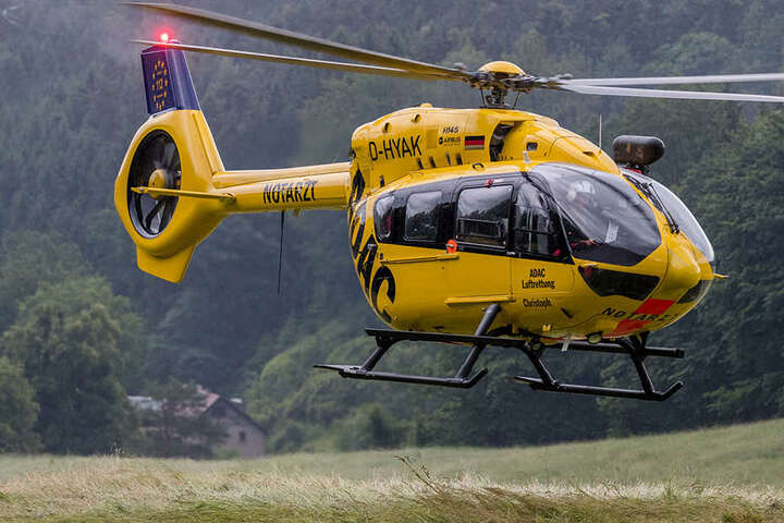 Per Rettungshubschrauber wurde der 11-Jährige ins Uniklinikum gebracht.