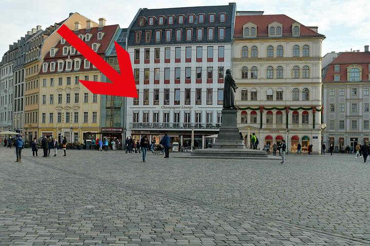 Zum 5. Geburtstag der Champagner Lounge am Neumarkt kam Till Lindemann nach Dresden.