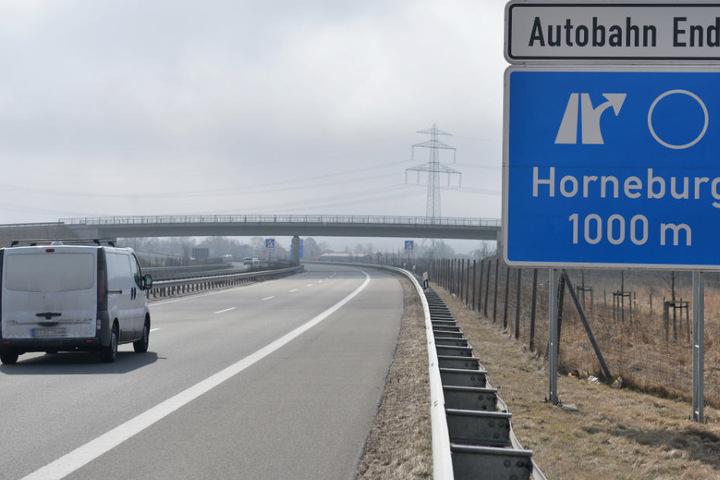 Derzeit hört die A26 kurz vor Buxtehude auf.