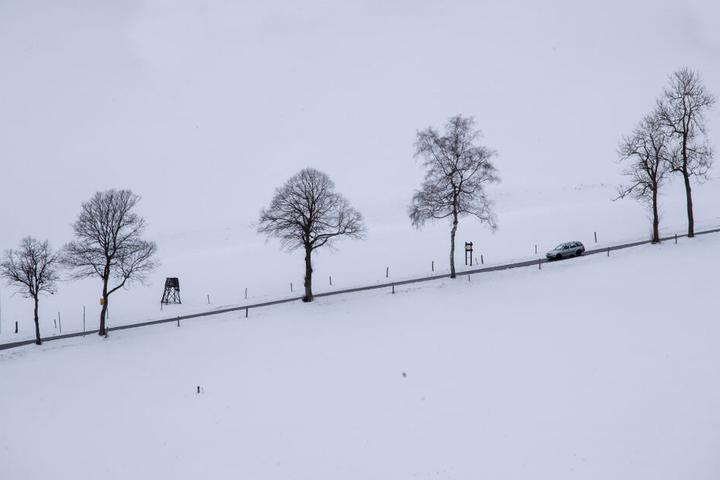 In den höheren Lagen wird jedoch Schnee erwartet.