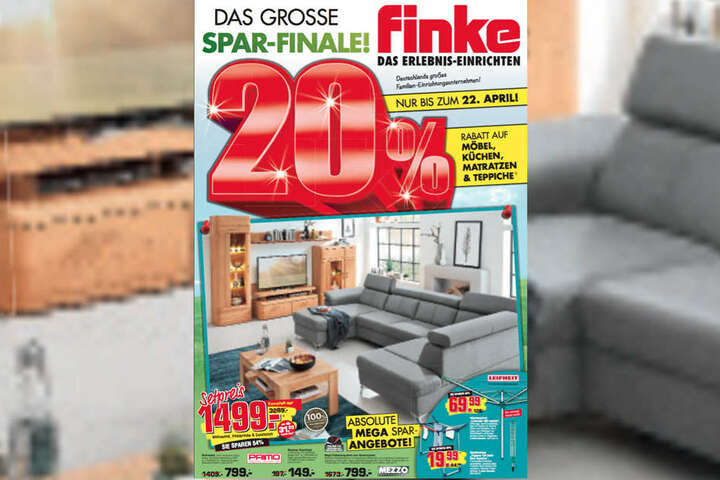 bis 22 april m bel set f r nur 699 euro bei finke. Black Bedroom Furniture Sets. Home Design Ideas