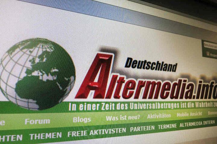 Auf der Website war über Jahre Hass auf Ausländer, Flüchtlinge oder Juden geschürt worden.