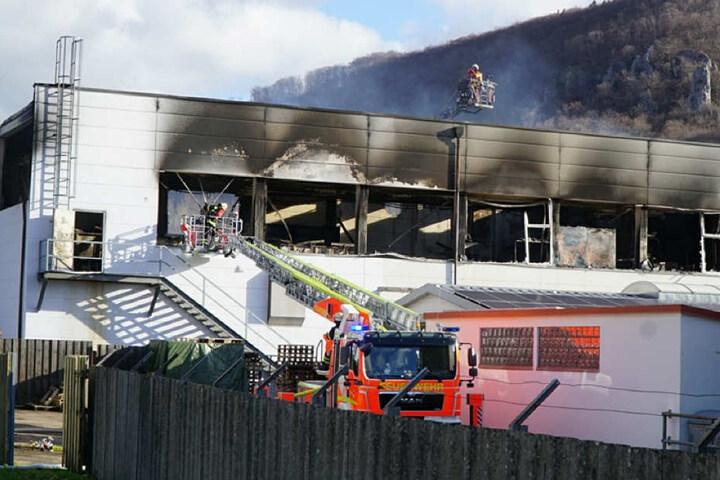 In den kommenden Tagen kann der Brandort genauer untersucht werden.