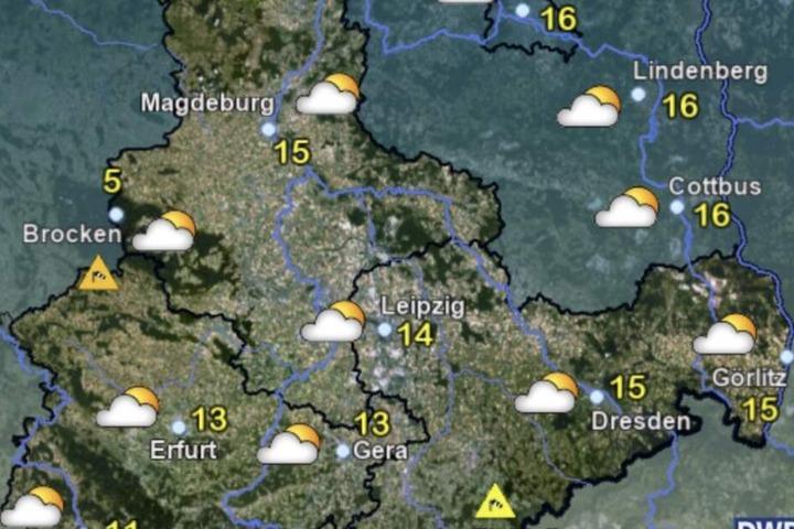 In Mitteldeutschland ist am langen Wochenende mit freundlichen Temperaturen zu rechnen.