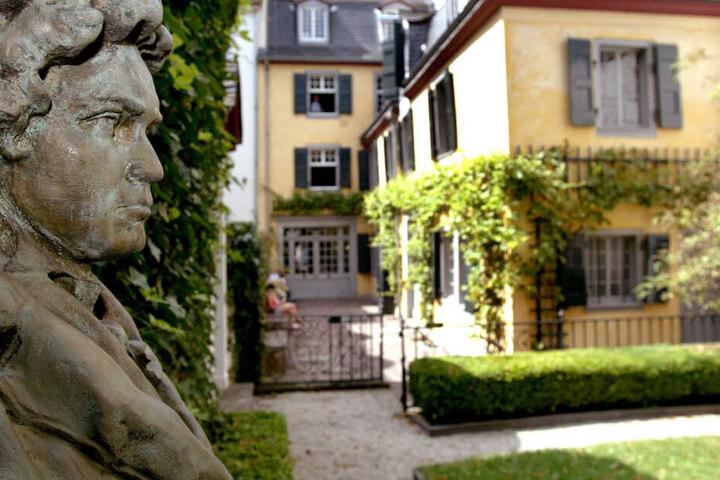 Beethoven prägt das Stadtbild von Bonn.