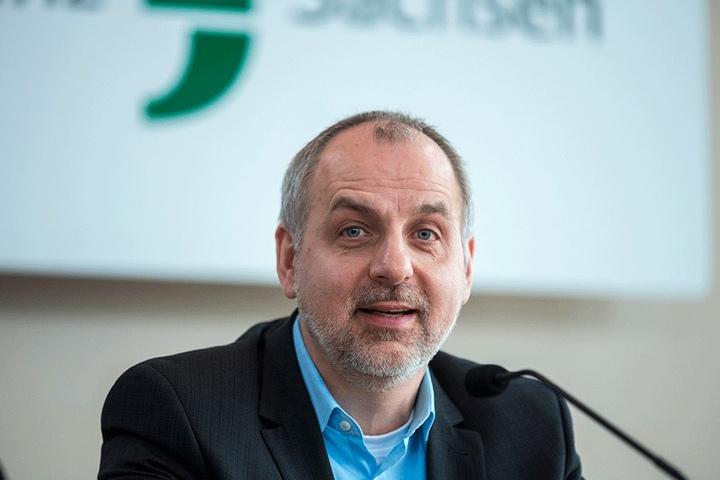 Sachsens Linken-Chef Rico Gebhardt (53) kann sich freuen: Seine Partei verzeichnet mehr Neumitglieder als sonst.