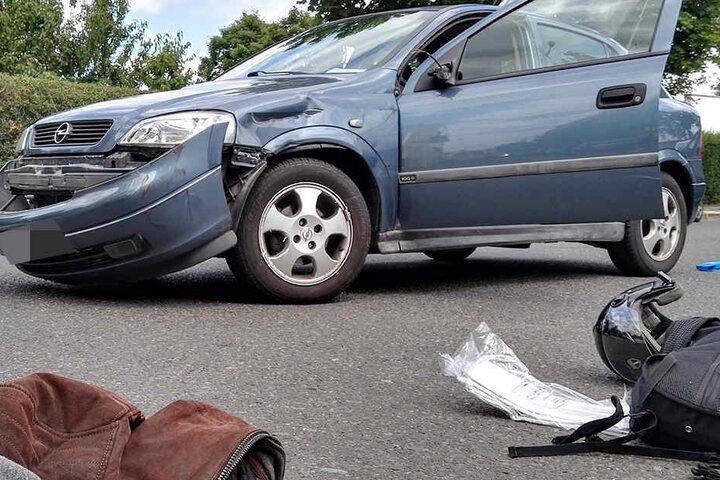 Nach ersten Erkenntnissen blieb der Opel-Fahrer unverletzt.