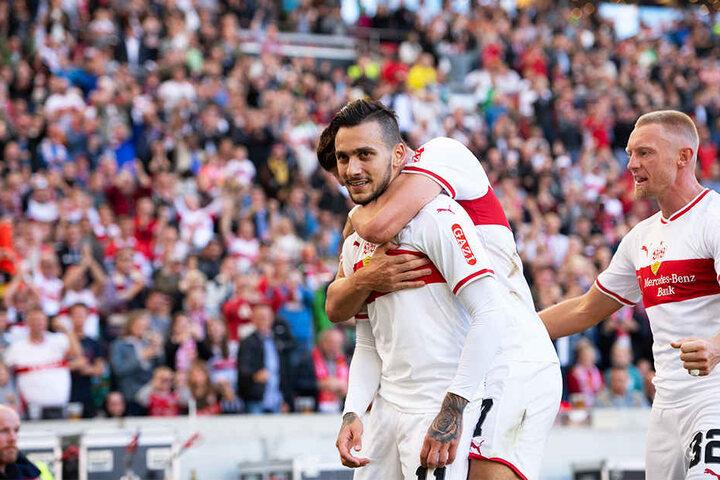 Traf am Samstagnachmittag noch zur zwischenzeitlichen 1:0-Führung für den VfB Stuttgart und fällt nun wochenlang mit einem Muskelbündelriss aus.
