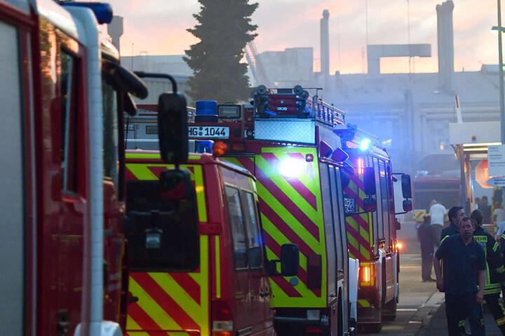 Die Feuerwehr musste mit einem Großaufgebot in Oberursel anrücken.
