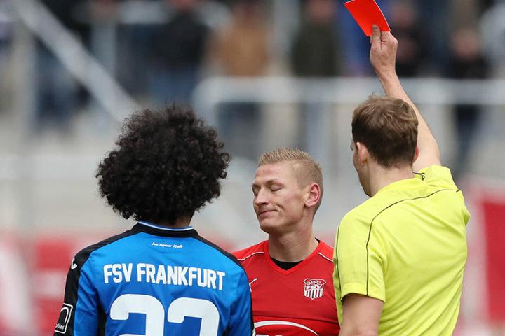 Erst traf er zum Ausgleich, dann gab's den roten Karton: Zimmermann wurde am Samstag zum tragischen Helden.