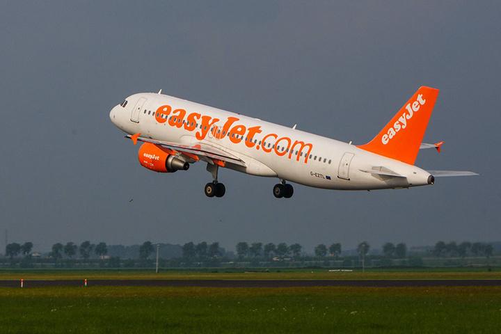 Die Easyjet-Maschine war im Landeanflug aus Basel.