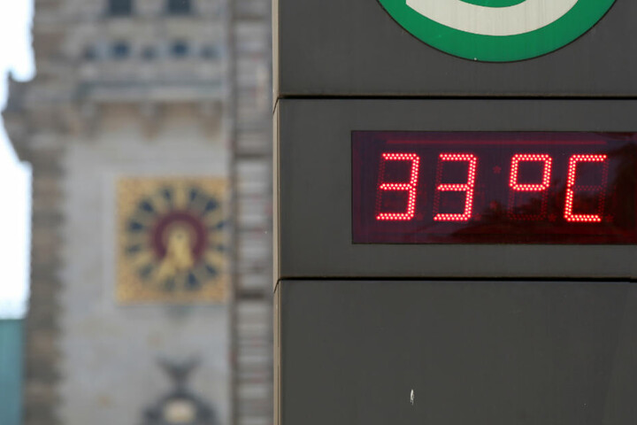 Die Temperaturen klettern Ende kommender Woche weiter auf bis zu 33 Grad.