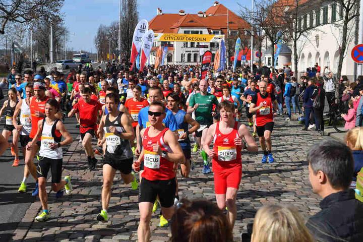 Über 3800 Teilnehmer waren dieses Jahr beim Lauf dabei.