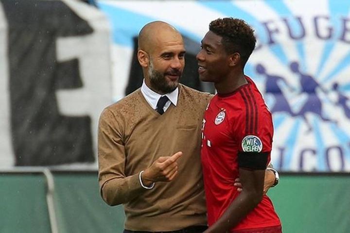 Schon während Guardiolas Zeit in München hatte es mehrfach Berichte gegeben, dass der Coach Alaba nach seinem Wechsel nach Manchester locken wolle.