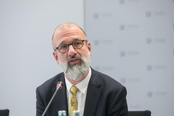 Joachim Klose, Moderator der AG 13. Februar