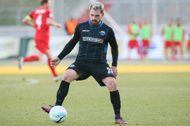 Pascal Itter kam im Sommer 2016 aus Österreich zum SC Paderborn.