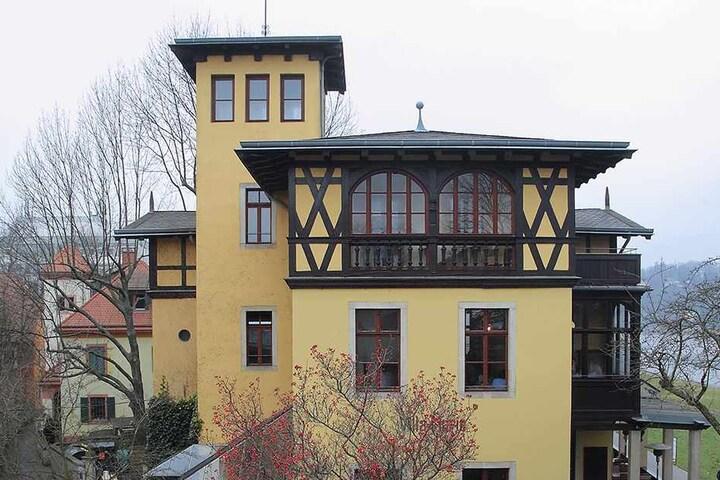 Die Villa ist heute fein saniert und ein beliebtes Restaurant.