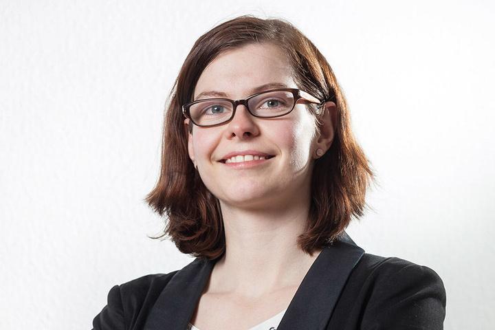 Linken-Stadträtin Sabine Pester (32) macht sich stark für mehr freies WLAN in  der City.