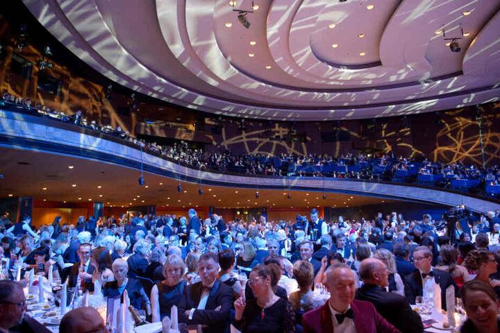 Zum Landespresseball werden rund 2200 Gäste erwartet. (Archiv)