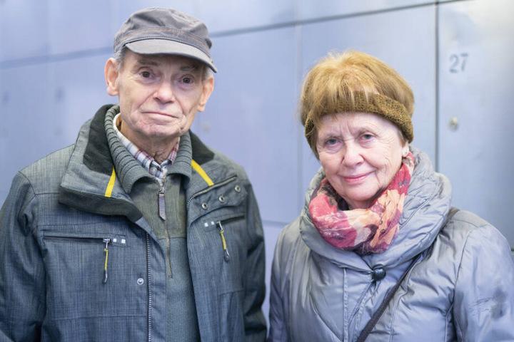 Waren zum ersten Mal in ihrem Leben im Gefängnis: das Dresdner Rentnerehepaar Bettina (75) und Ullrich Rauch (79).