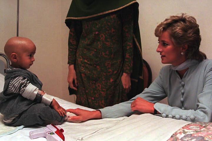 Lady Di (†36) besuchte dasselbe Krankenhaus kurz vor ihrem Tod 1996 und 1997.