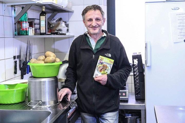 """Steffen Melzer kocht seit zwölf Jahren im """"Bischof 72"""" - besondern gern schnelle Rezepte von Mälzer."""