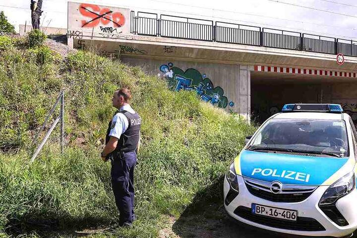 Spezialisten der Polizei waren im Einsatz.