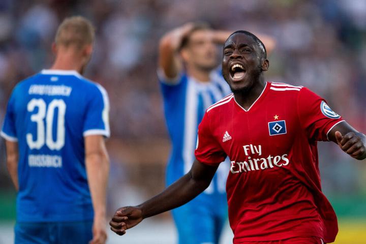 Der 20-jährige Belgier ist in der Saison 2018/19 vom VfB Stuttgart an den Hamburger SV ausgeliehen.