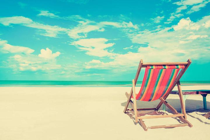 Wer wünscht sich bei diesem Wetter nicht am Strand zu liegen?