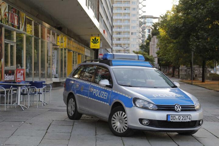 Die Polizei war bis in die Morgenstunden in der Innenstadt im Einsatz.